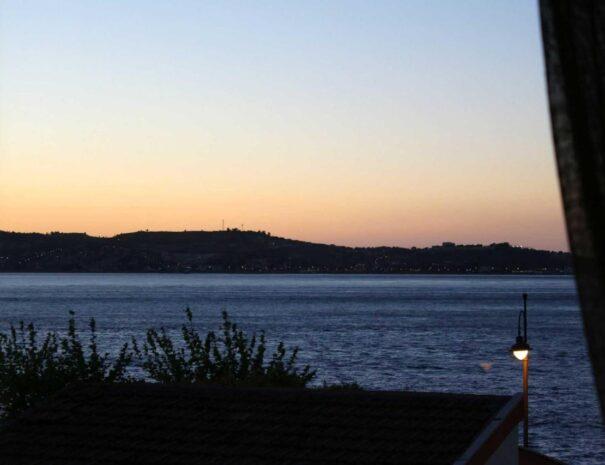 Panorama dalla camera del B&B Sirio a Villa San Giovanni